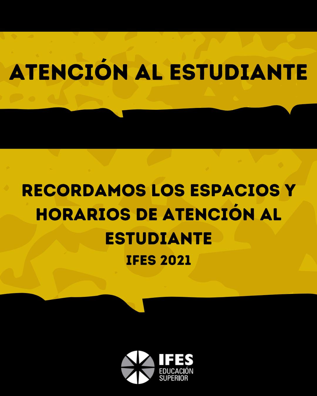 ATENCIÓN AL ESTUDIANTE